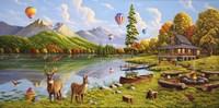 Majestic Sky Fine Art Print