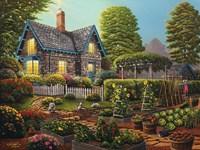 Garden Escape Fine Art Print