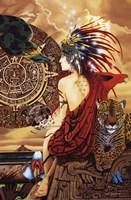 Aztec Dawn Fine Art Print