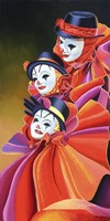 Carnival Clown Fine Art Print