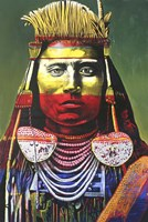 Indian Chief Fine Art Print