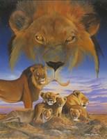 Masai Morning Fine Art Print