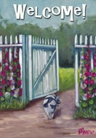 Daisy Smelling Flowers Fine Art Print