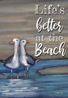 Lovebirds Text Fine Art Print