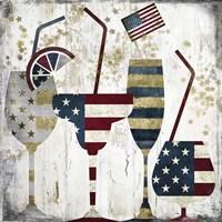 American Party Fine Art Print