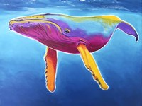 Humpback Whale - Rainbow Fine Art Print