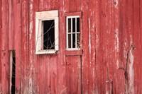 Barn Windows Fine Art Print