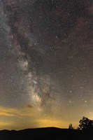 Milky Way Ridge Fine Art Print