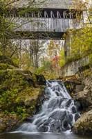Mill Bridge Waterfall Fine Art Print