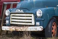 Old Gmc Truck Fine Art Print