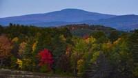 Smarts Mountain In Autumn Fine Art Print
