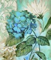 Blue Hortensia Fine Art Print