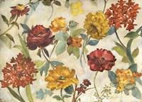 Layered Flowers Fine Art Print
