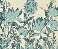 Textured Flowers Fine Art Print