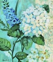 White Hortensia Fine Art Print
