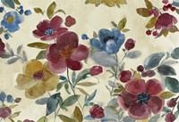 Marsala Flowers Fine Art Print