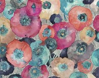 Colorful Poppies Fine Art Print