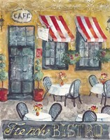 French Bistro Fine Art Print