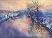 Winter River Fine Art Print