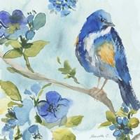 Bird On Branch 2 Fine Art Print