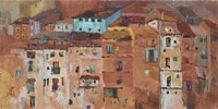 Old Spanish Town Fine Art Print