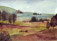 Watercolor Landscape Fine Art Print