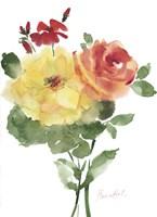Roses Bogonvilia 1 Fine Art Print