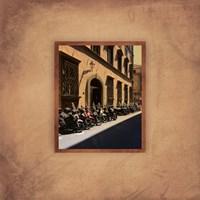 Tuscan Bikes II Fine Art Print