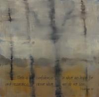 Faith Is Verse Fine Art Print