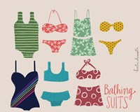 Bathing Suits Fine Art Print