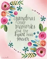 Grandma Memories Fine Art Print