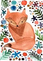 Watercolor Fox Fine Art Print