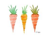 Three Carrots Fine Art Print