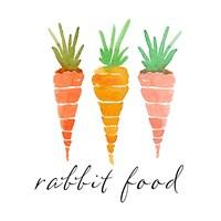 Rabbit Food Fine Art Print