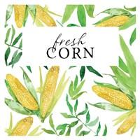 Fresh Corn Fine Art Print