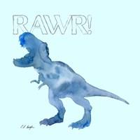 Blue T0Res Fine Art Print