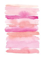 Abstract Pink Stripes Fine Art Print