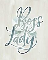 Boss Lady Floral Fine Art Print