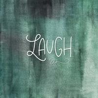 Laugh Green Fine Art Print