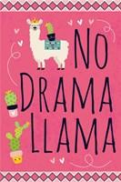 No Drama Llama Fine Art Print