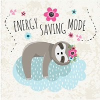 Energy Saving Mode Fine Art Print