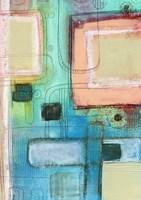 The Blue Crayon Fine Art Print