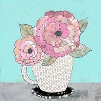 Tea Cup I Framed Print