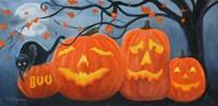 Halloween Pumpkins Fine Art Print