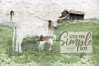 Live the Simple Life Fine Art Print