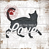 All You Need is Love - Cat Fine Art Print