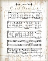 How Great Thou Art Framed Print