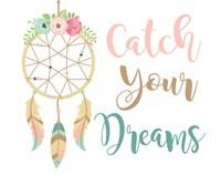 Catch Your Dreams Boho Fine Art Print