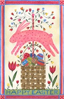 Happy Easter Pink Fine Art Print