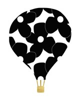 Flower Balloon Fine Art Print